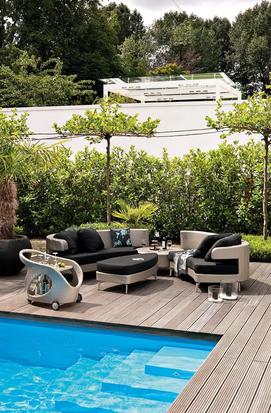 72 best Pool images on Pinterest Modern homes, Swimming pools - villa mit garten und pool
