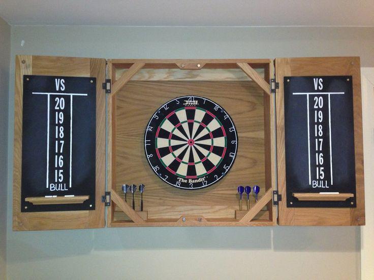 Classic Dart Board Cabinet By Mrfid Lumberjocks Com