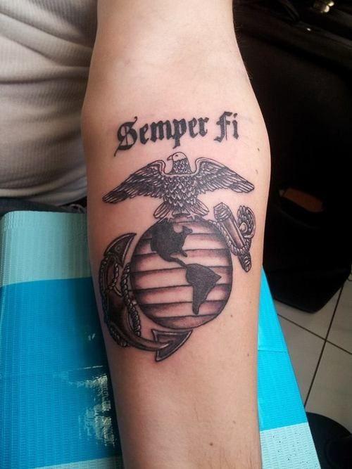 Eagle Anchor Globe Tattoo - http://16tattoo.com/eagle-anchor-globe-tattoo/