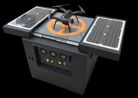 Estas cajas negras son garajes autónomos para drones: Dronebox