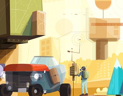 """Check out new work on my @Behance portfolio: """"New illustrations"""" http://be.net/gallery/58129217/New-illustrations"""