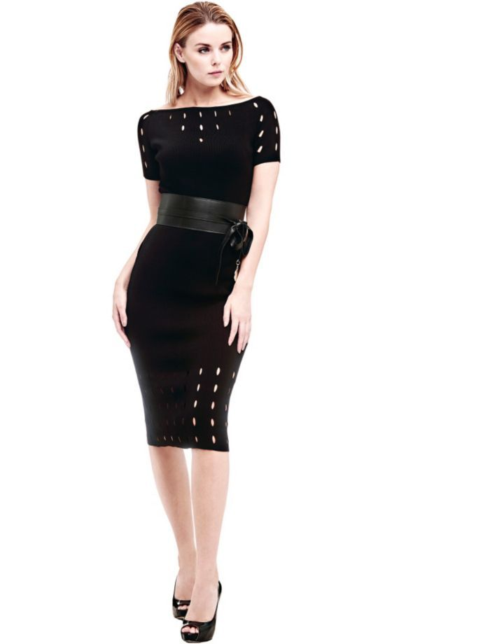 EUR179.00$  Watch here - http://vixbv.justgood.pw/vig/item.php?t=9l5q67o44925 - MARCIANO DRESS WITH HOLES ALL OVER