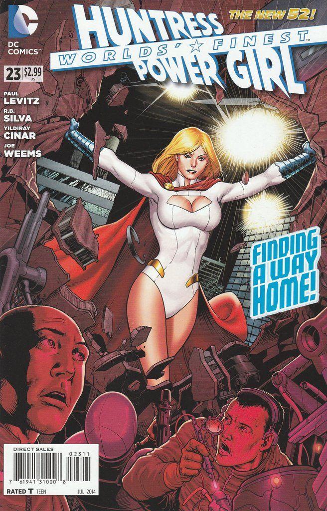 Worlds' Finest # 23 DC Comics The New 52! Vol 3
