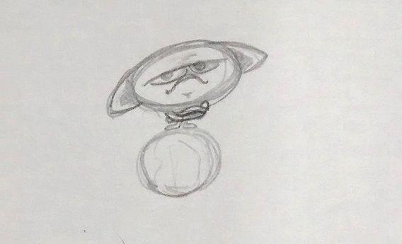 """Ilustración; """"Niño enojado con el mundo por no poder soñar"""" Nana Brogi"""