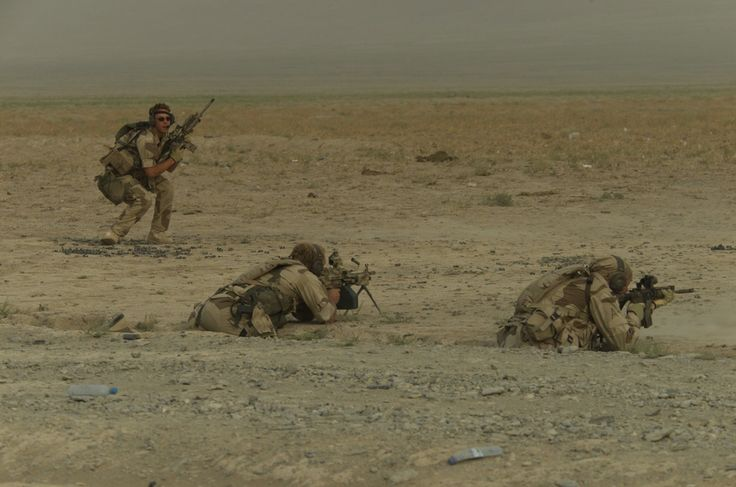 Norwegian Marine Special Forces training in South-Afghanistan.  Picture by Norwegian MJK.