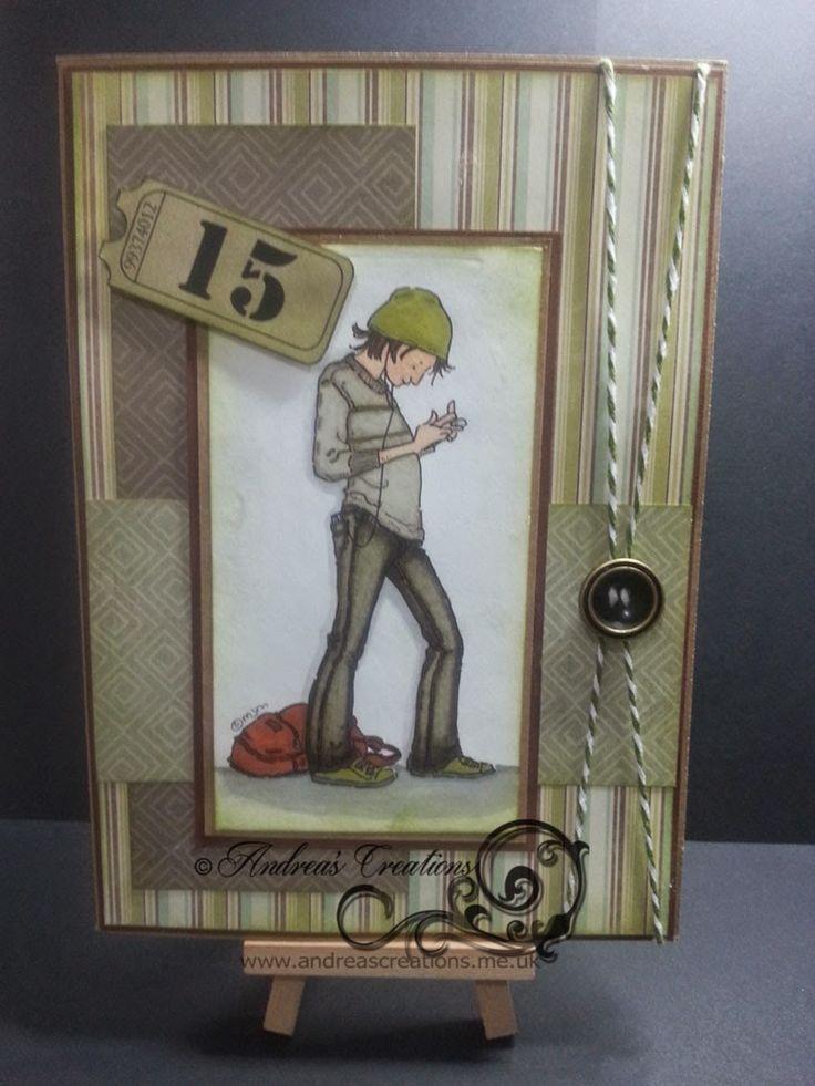Andrea's Creations: A Card For Matt