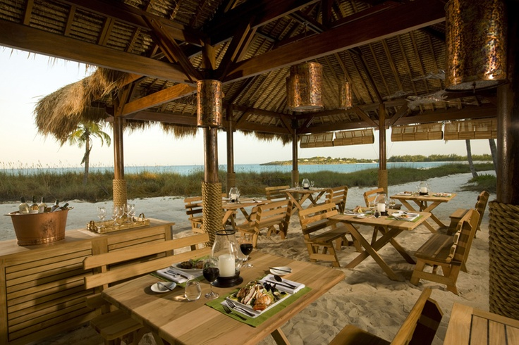 Nice place to eat in Sandals Emerald Bay www.vowtotravel.com Book a well deserved getaway today!