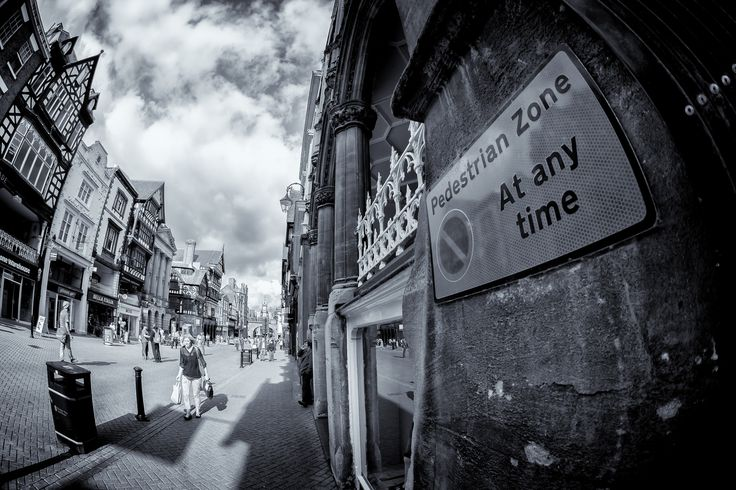 https://flic.kr/p/oN67f5 | Chester Fisheye | The above image was taken during a quick walk about in Chester on Thurs 14th Aug 2014. The main reason for this trip was to test out a Canon Fisheye zoom lens (8-15mm F4.0L). All of these images where taken at the widest focal length without the black edges starting to come into view.