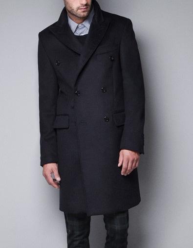 BLAZER COAT - Coats - Man - ZARA
