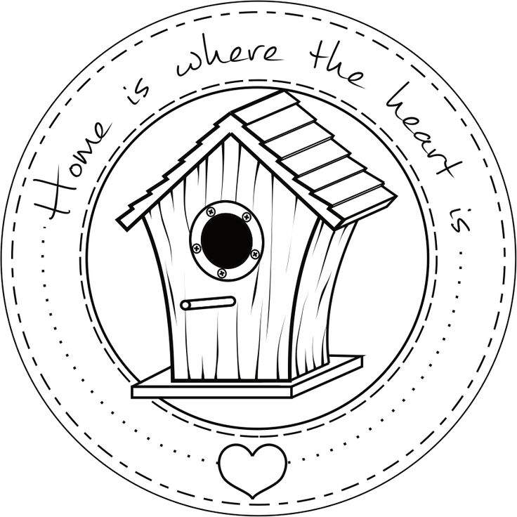 Digi stemple by AliceCreations: 30. Home is where the heart is... :)