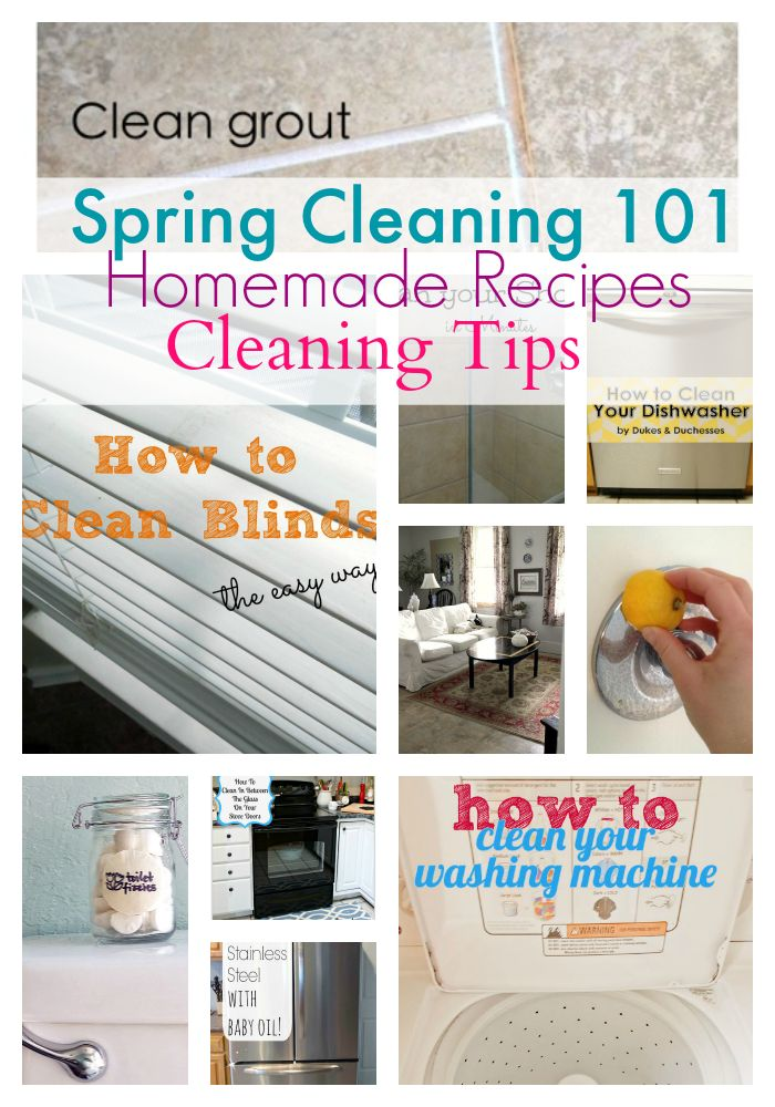 10 Smart Spring Cleaning Tips and Tricks - Princess Pinky Girl