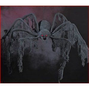 Halloween decoration - GIANT Creepy Cloth SPIDER - extends 4 feet! #Halloween #decoration #GIANT #Creepy #Cloth #SPIDER #extends #feet!