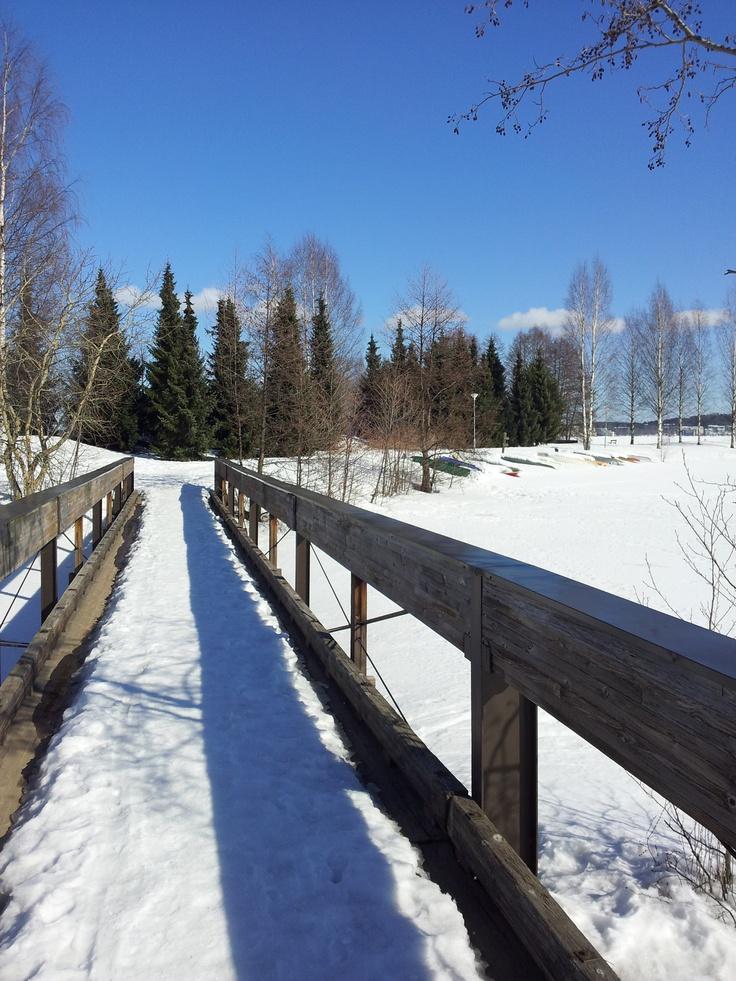 Road to Myllysaari, Lti, Finland
