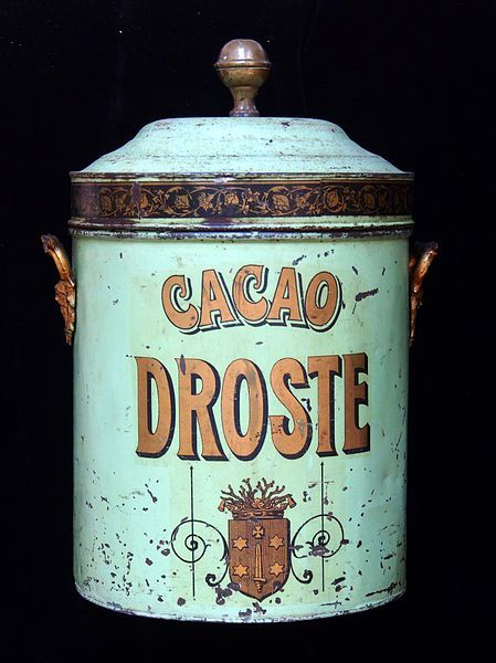 Droste Cocoa tin