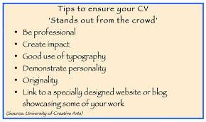 Image result for cv tips