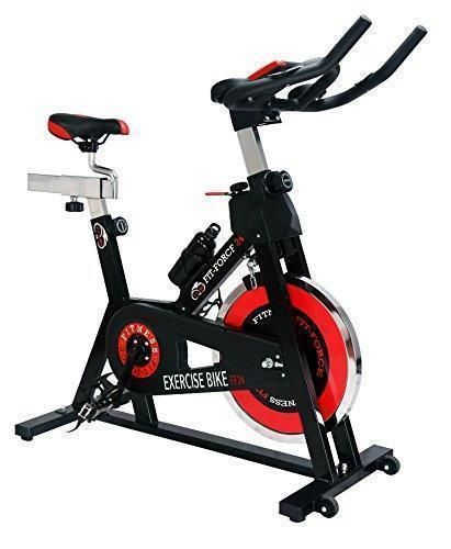 Oferta: 199.99€ Dto: -60%. Comprar Ofertas de Bici spinning Fit-Force con volante de inercia de 24kg barato. ¡Mira las ofertas!