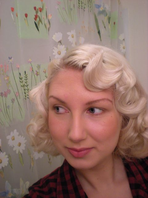 Simple way to get finger waves.