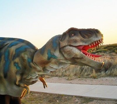 Dinosaur Baby T-REX Costume Walking With Dinosaurs Realistic Suit