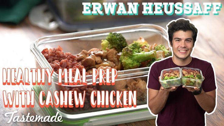 Healthy Meal Prep With Cashew Chicken I Erwan Heussaff - YouTube