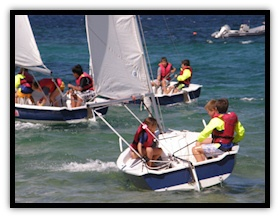 Kids sailing school