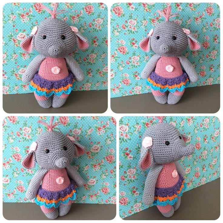 Baby elephant made by kriziwizi