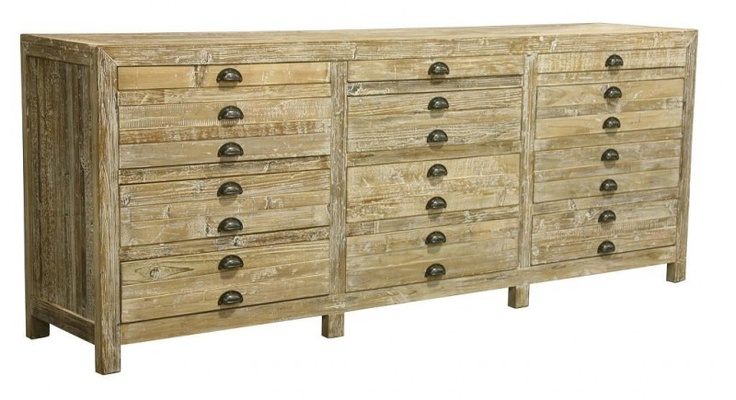 WANT. Apothecary chest made of reclaimed wood. This would make a fabulous TV stand!
