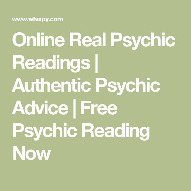 Online Real Psychic Readings   Authentic Psychic Advice   Free Psychic Reading Now