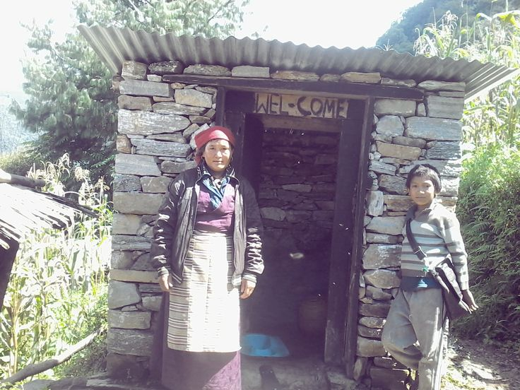 Chheskam is an eco-san and and open defecation free village.