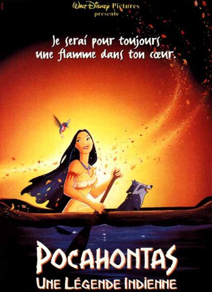 Pocahontas - Près de 700 paroles de chansons de Walt Disney !