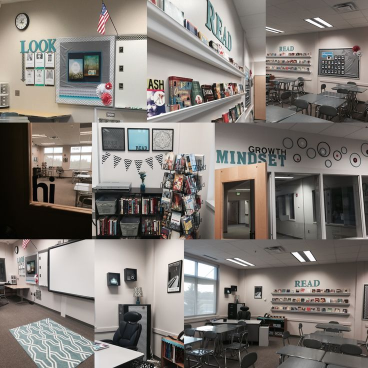 Yes, a high school classroom can be inviting. My language arts 9-12 classroom.