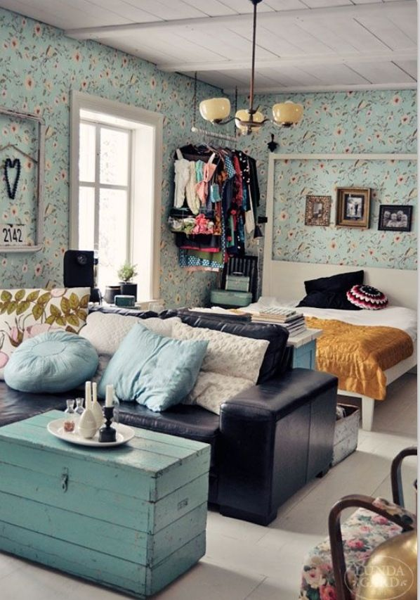 22 Brilliant Ideas For Your Tiny Apartment Dream Mansion Pinterest Small Studio Apartments Home And House