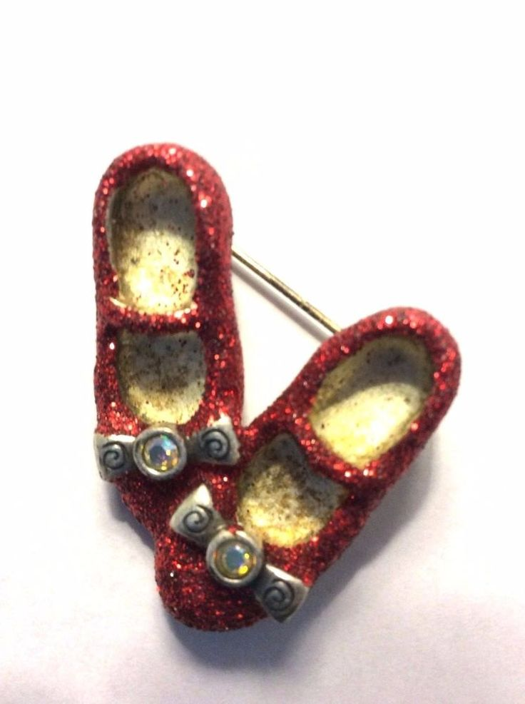 how to make ruby red slippers with glitter