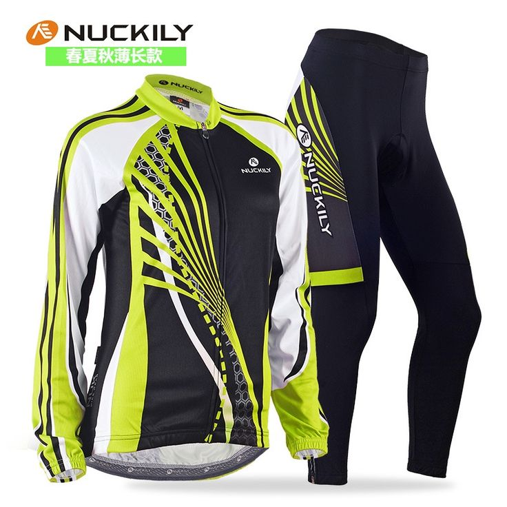 52.13$  Buy here - http://aliy3p.shopchina.info/go.php?t=32784891642 - NUCKILY Women Cycling sets Spring Summer Thin Cycling Suits Ropa Ciclismo MTB Bike Racing Women long Sleeve Cycling Jersey sets 52.13$ #buyininternet