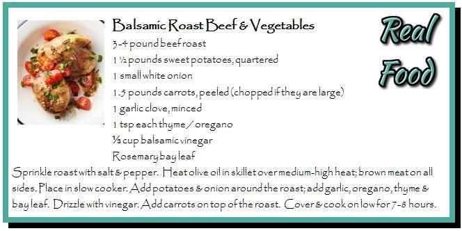Balsamic Roast Beef & Vegetables
