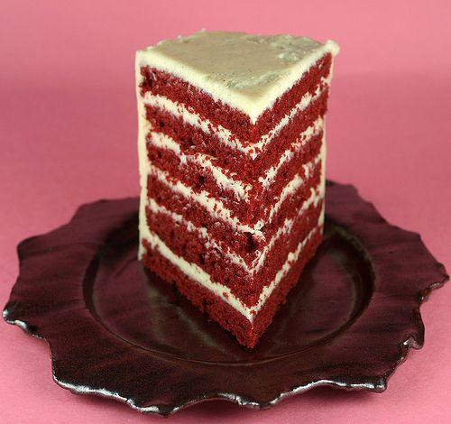 Waldorf Astoria Red Ribbon Cake