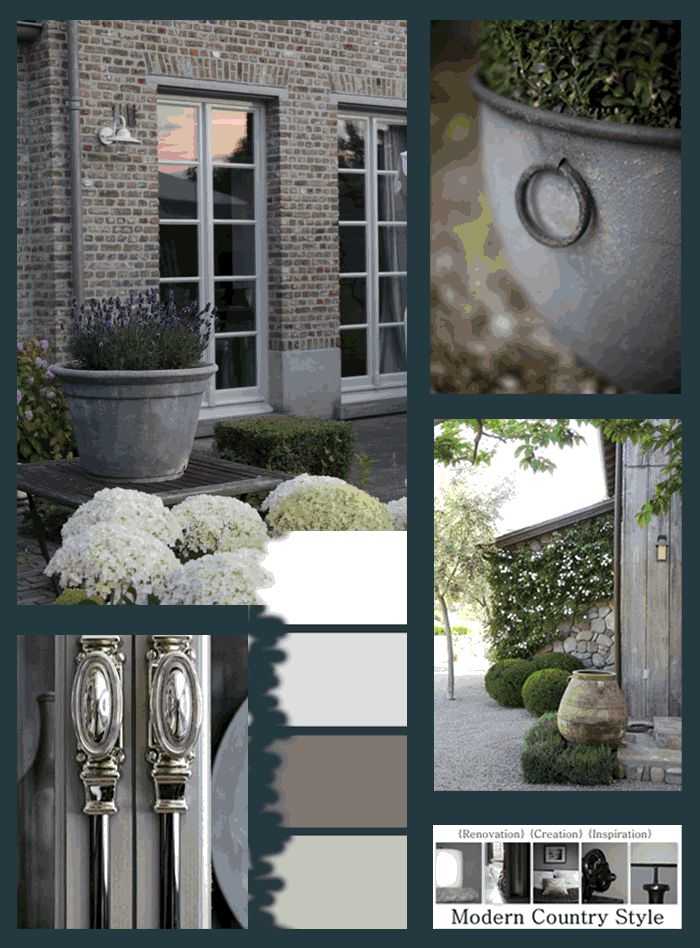 Modern Country Style blog: The Best Front Door Paint Colours: Dusky Purples