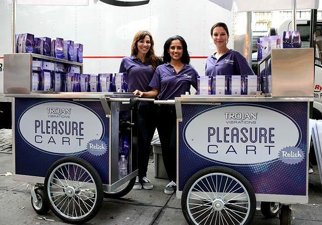 Trojan, the US's most popular condom company, planned to provide 10,000 vibrators during a two-day promotion in New York City. However, the event was halted by city officials, gaining a front page story on the New York Post. The day after the giveaway was stopped, the company obtained the relevant documentation, meaning the offer was back on, having had a huge boost of publicity. It's one of the best-worked PR stunts for a while, leading to more coverage than many brands achieve in a…