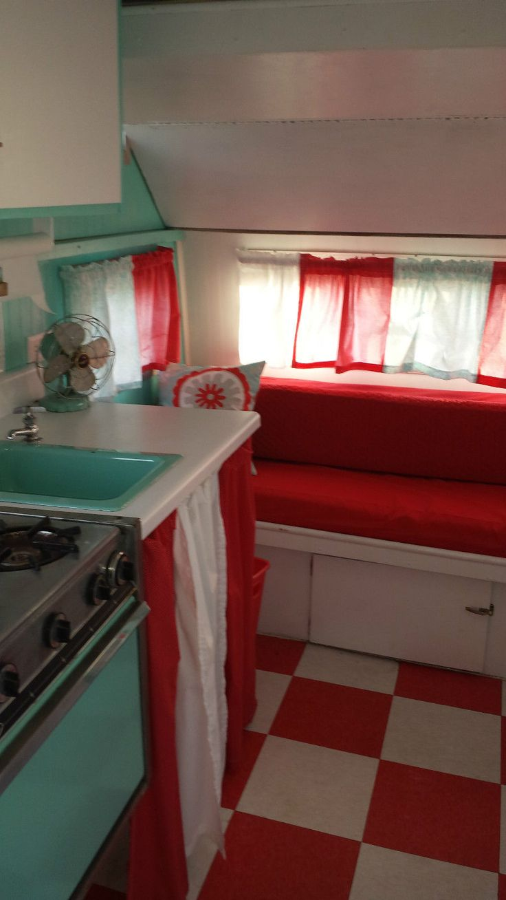 82 best Vintage Campers on the inside images on Pinterest Gypsy