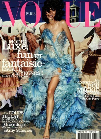 Mode luxe, fun et fantaisie. Gefunden in: VOGUE / F, Nr. 962/2015