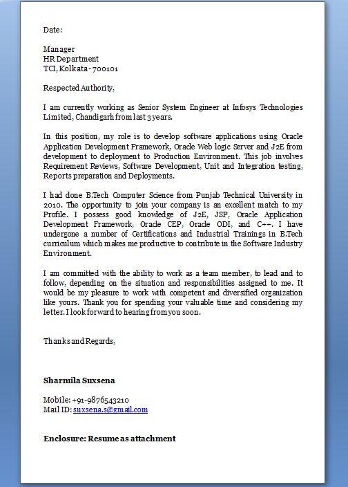 Job Application Letter Format In Doc Salary Increment Letter – Salary Increment Sample Letter