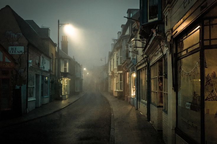 Whitstable's famous Harbour street. by Michael Marsh