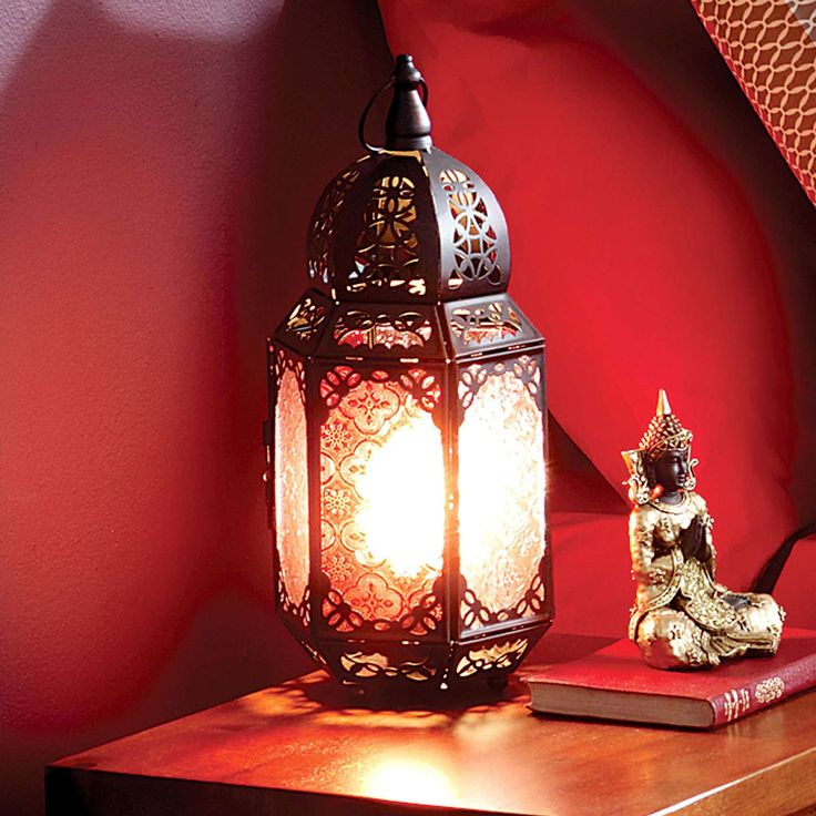 Marrakech Lantern Table Lamp Table lamps for bedroom