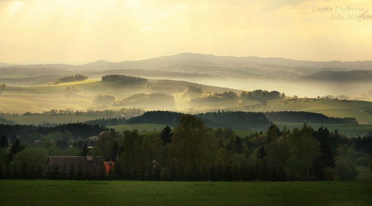 By the edge of Krkonose Mountains, #Krkonose, #Czech, #Mountains, #Czechrepublic
