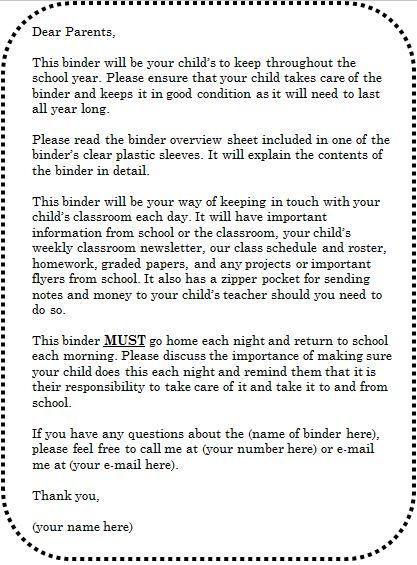 Best  Kindergarten Parent Letters Ideas On   Letter