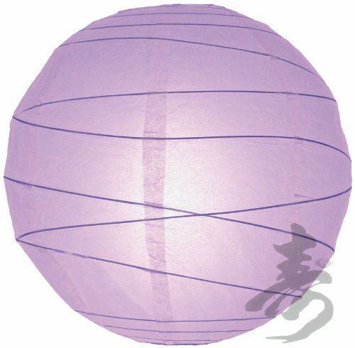 "12"" Lavender Irregular Paper Lanterns - (10 Pack) by Asian Import Store, Inc.. $15.50. Each pack includes 10 x Paper Lanterns. Dimensions: 12"" dia. (All lanterns sold without lighting, lighting options must be purchased separately). Round paper lantern with a irregular bamboo ribbing and is held open with a wire expander.. Round paper lantern with a irregular bamboo ribbing. Lantern is held open with a wire expander.  Dimensions: 12"" dia  (All lanterns sold without lig..."
