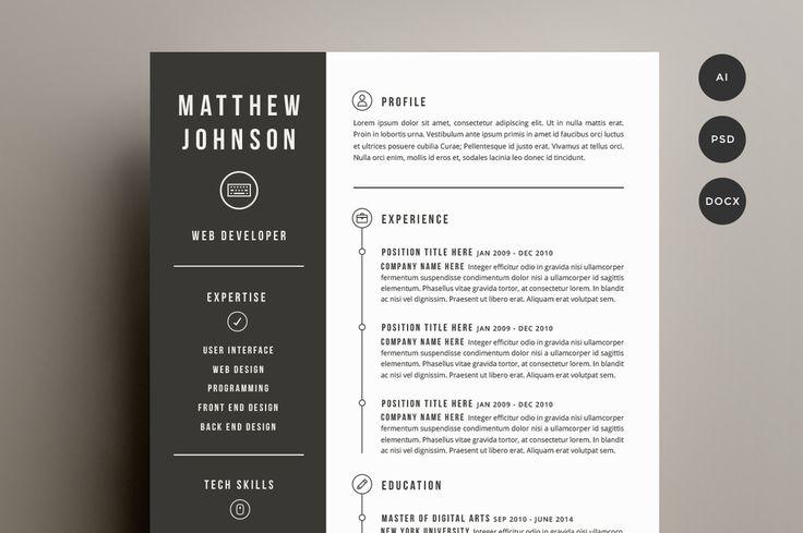 On ne le répètera jamais assez, mais soignez votre CV ! C'est votre carte de visite et souvent le premier document que votre futur recruteur verra, il est donc indispensable de le soigner, de ne pas mentir (vous serez vite repéré) et d'être un poil créatif histoire de faire la différence. Histoire de vous aider à