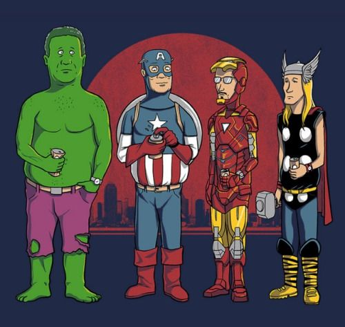 King of the Hill and Avengers mashup