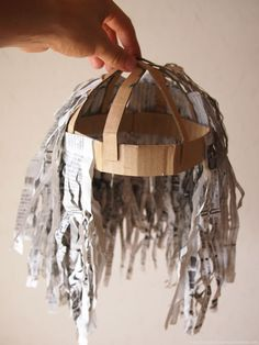 The Cardboard Collective, great paper wig tutorial.