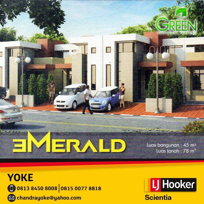 Green Residence Serpong - EMERALD