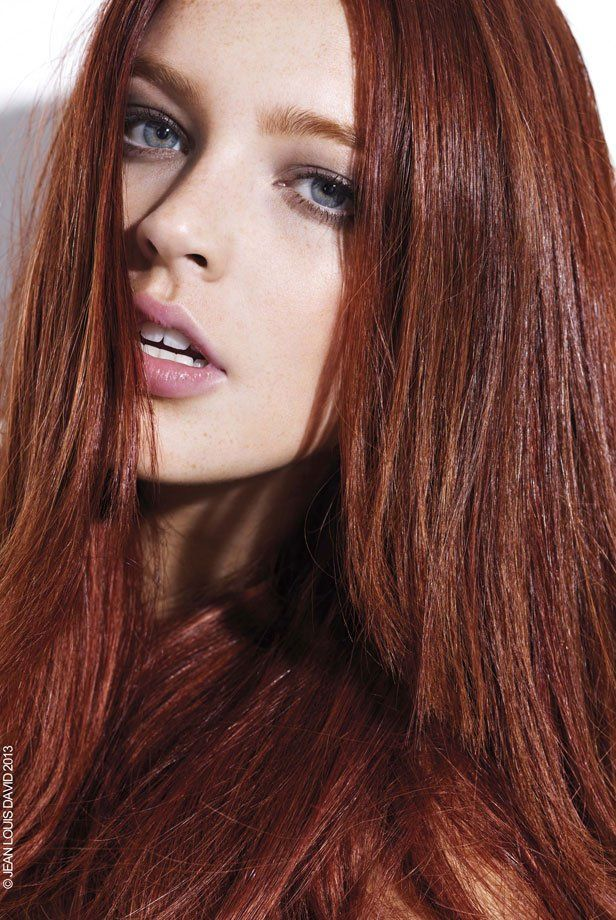 coloration quel roux pour mes cheveux marie claire - Coloration Chatain Dor